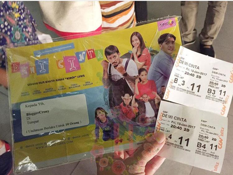 film demi cinta, thriller film demi cinta, review film demi cinta, film komesi 2017, film indonesia