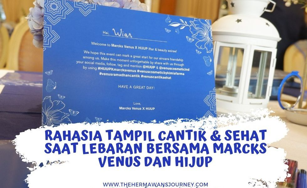 cantik saat lebaran, review venus mascara, review venus eyebrow, review venus eyeliner, voucher hijup, promo hijup, rahasia cantik linda kayhz, review venus lip matte cream, produk baru venus cosmetics, kosmetik sehat